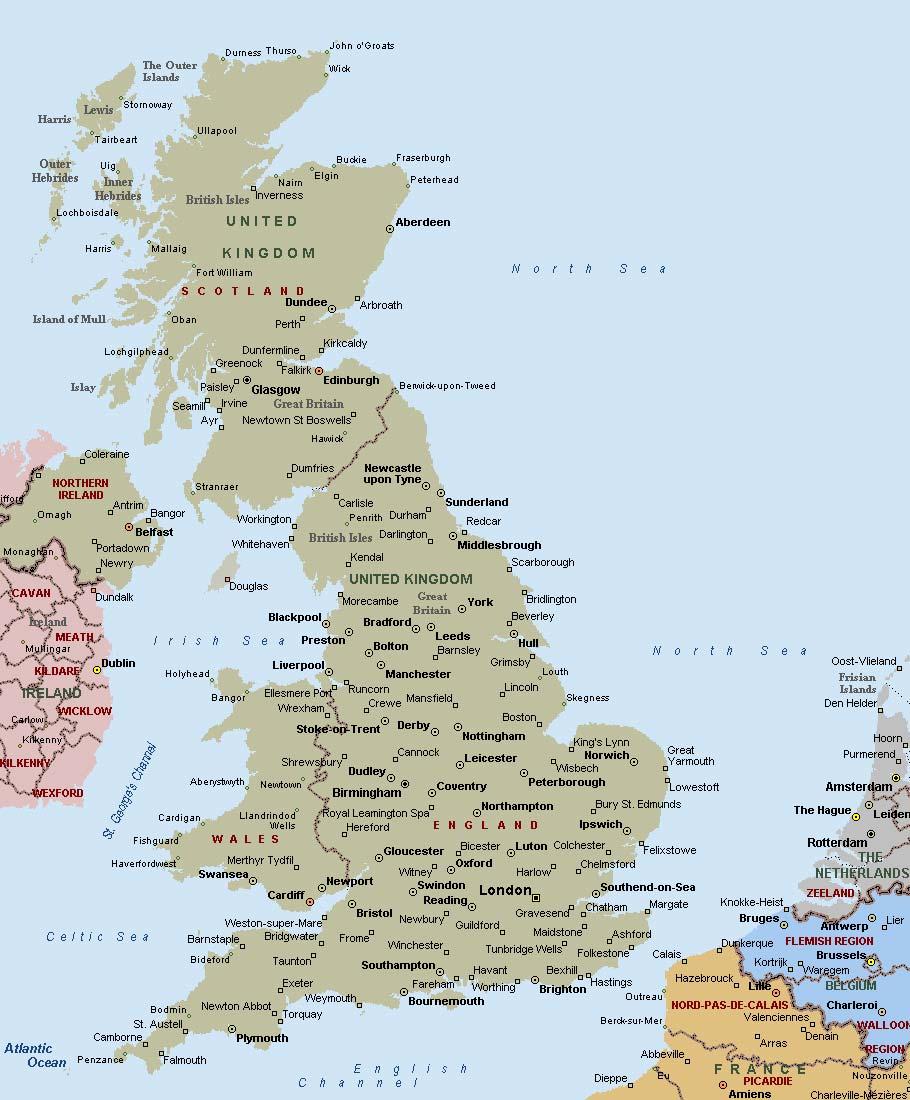 Big Map Of England.Big Map Of Uk Twitterleesclub